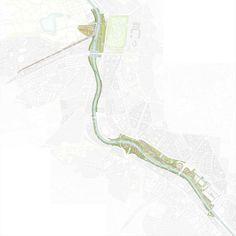 Project: Madrid RIO, Madrid, Spain  Landscape Architect: West 8  Area: 80 ha