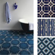 dettagli home decor: Pavimento: design contemporaneo con influenze marocchine