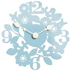 Clock for bedroom wall