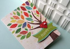 tree with heart, another scrapbuster card