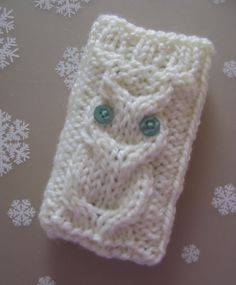 Crochet Owl Case for phones