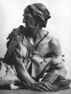 Giuseppe Sanmartino (1720–1793) / Figura per presepe Sculpture Projects, Sculpture Art, Giuseppe Sanmartino, Native Indian, Michelangelo, Vignettes, In This Moment, Statue, Figurative