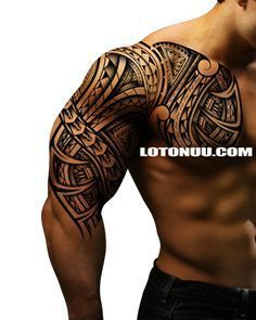 samoan tattoos designs with lion Trible Tattoos, Hawaiianisches Tattoo, Armor Tattoo, Samoan Tattoo, Chest Tattoo, Body Art Tattoos, Maori Tattoos, Tatoos, Dragon Tattoos