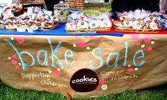 bake sale signage - Google Search