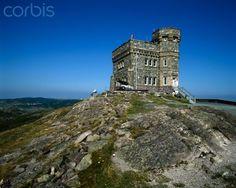 Cabot Tower Signal Hill, St. John's Newfoundland, Canada