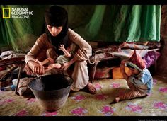 Extraordinary picture of a child bride.