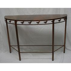 Round Running Horse Table
