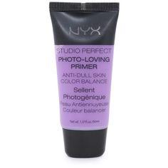 Nyx Cosmetics Studio Perfect Primer ($12) ❤ liked on Polyvore