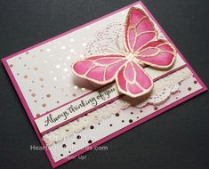 Heart's Delight Cards, Beautiful Day, Butterfly, Stampin' Up!, Occasions 2018,