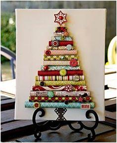 Gift Wrap Roll Christmas Tree