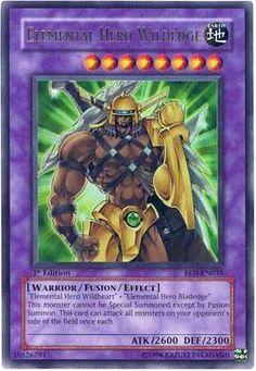 YuGiOh Elemental Energy Ultra Rare Elemental Hero Wildedge EEN-EN035