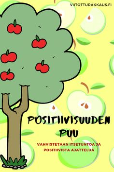 Positiivisuuden puu - Viitottu Rakkaus Teaching Emotions, Early Childhood Education, Work Inspiration, Special Education, Preschool, Classroom, Positivity, Teacher, Fictional Characters