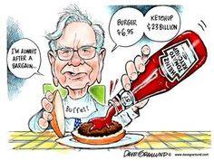 Dave Granlund cartoon on Warren Buffett and Heinz http://www.uticaod.com/ghs/cartoons/x766870557/Granlund-cartoon-Warren-Buffett-and-Heinz#