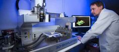 Welsh Centre provides an open access facility for product development with the 3D Bioplotter.