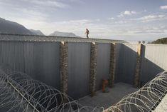 Exercise Yard, Voorberg Prison, 2004