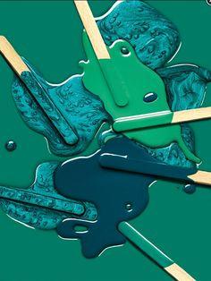The Blue-Greens ~ *Teal, *Turquoise, *Aquamarine