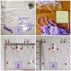 Jak vyrobit svatební vývazky (mašličky) na myrtu