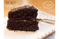 The Best Vegan Chocolate Cake - like ever. #vegan #chocolate #cake  SOulFreshtheblog.com