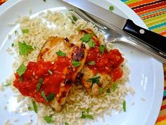 The Briny Lemon: Thai Chicken Thighs with Hot and Sour Tomato Jam