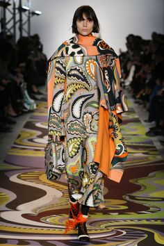 Emilio Pucci Autumn/Winter 2017 Ready to Wear Collection