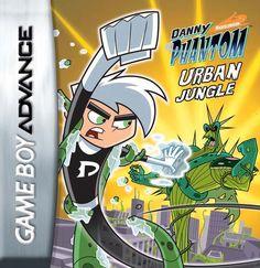 Nintendo Ds, Nintendo Game Boy Advance, Dope Cartoons, Dope Cartoon Art, Danny Phantom Urban Jungle, Ghost Pokemon, Catwoman, Box Art, Fun Games