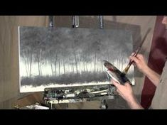 Time Lapse Speed Acrylic Painting I SEE ME IN A TREE by Tim Gagnon - YouTube