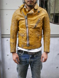 Lewis Leather yellow Cyclone