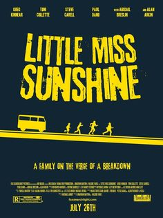 Little Miss Sunshine (2006) - Minimal Movie Poster by Andrew Curtis #minimalmovieposters #alternativemovieposters #andrewcurtis