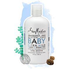 Fragrance-Free, Gluten Free Baby Wash & Shampoo A Better Way to Beautiful Since 1912.