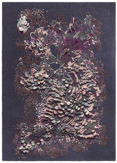 Une decoration florale : Tapis Flora (J.D. Staron)