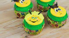 Biene Maja und Willi Honig Cupcakes zum Geburtstag