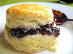 Hot Biscuit with Muscadine Jelly