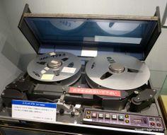 Hitachi Video Tape Recorder SV7400B (1974) @ NHK Museum, Tokyo, Japan