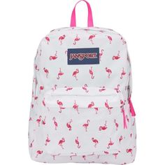 Online Designer Bag Shopping: Buy Smarter, Faster And Cheaper Cute Jansport Backpacks, Cute Backpacks, Girl Backpacks, School Backpacks, Mochila Jansport, Jansport Superbreak Backpack, White Flamingo, Pink Flamingos, Aesthetic Backpack