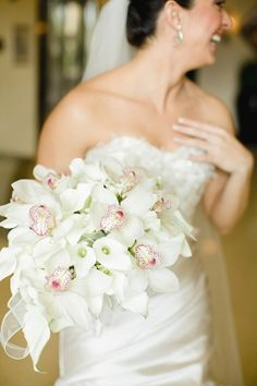 Orchid Bridal Bouquet | photography by http://www.elainepalladino.com/