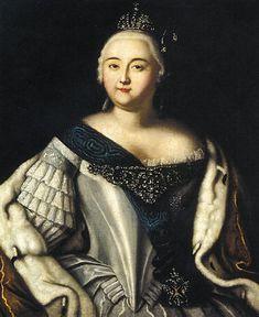 Empress Elizabeth ca. 1750
