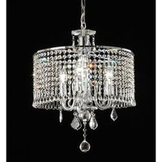 @Overstock - Add some elegance to your home decor with this Crystal Beaded Pendant Lamp. The pendant lamp has a sparkling chrome finish and a generous amount of crystal beads.http://www.overstock.com/Home-Garden/Crystal-Beaded-Pendant-Lamp/6739598/product.html?CID=214117 $132.69