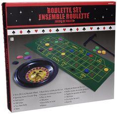 """Amazon.com: Casino Roulette Wheel Party Favour Prop Decoration, Plastic, 12"""" x 30"""", Pack of 4.: Toys & Games"""