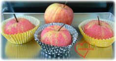 """A little involved but cool! Loving Creations for You: Apple Raspberry Chiffon """"Apples"""""""