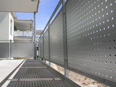 Lochblech Geländer Quadratlochung