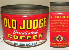 Old Judge, a local St. Louis, Missouri brand from 1918 until the late