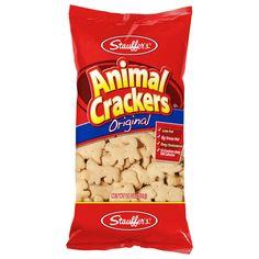 Animal Snacks, Animal Crackers, Vegan Junk Food, Vegan Snacks, Peanut Butter Filled Pretzels, Vegan Chips, Vegan Jerky, Biscoff Cookie Butter, Club Crackers