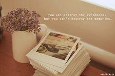 destroy, evidence, love, memories, memory, photo - inspiring ...