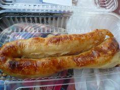 One bite: Lithuanian potato sausage Potato Pudding, Best Scone Recipe, Lithuania Food, Lithuanian Recipes, Great Recipes, Favorite Recipes, Good Food, Yummy Food, Lithuania