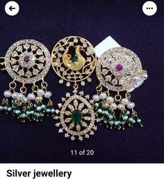 Neck Piece, Diamond Earrings, Brooch, Jewelry, Design, Fashion, Moda, Jewlery, Jewerly