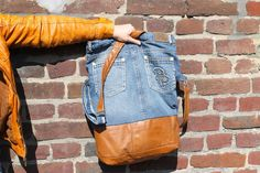 Jeanstasche Upcycling DIY smf