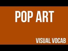 Pop Art defined - From Goodbye-Art Academy - YouTube