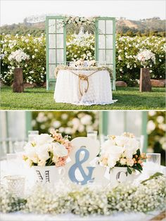 The design and coordination talent of Events by M and M has been featured! Discover these sweetheart table ideas and much more on our @weddingchicks feature.  http://www.weddingchicks.com/2015/08/24/sweet-garden-romance-wedding-budget-breakdown/