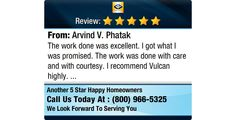 The work done was excellent. I got what I was promised. The work was done with care and...
