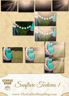 CoffeeShop SunFlare Texture Set 1!!!